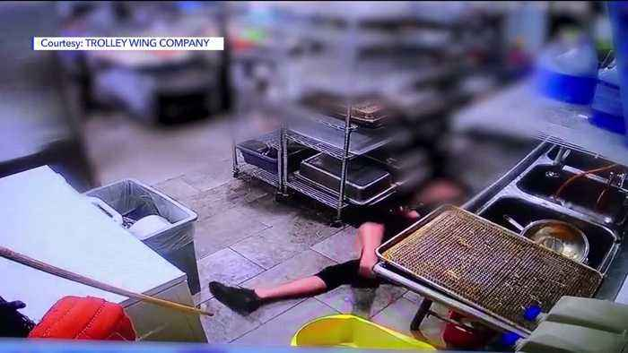Surveillance Video Appears to Show Worker Faking a Fall on the Job