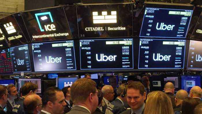 NYSE Trader on Why Uber Didn't Start Trading at Market Open