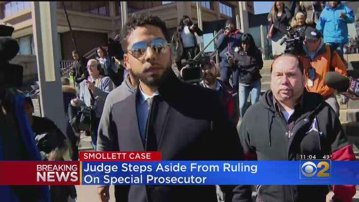 Judge Steps Aside From Ruling On Special Prosecutor For Jussie Smollett Case