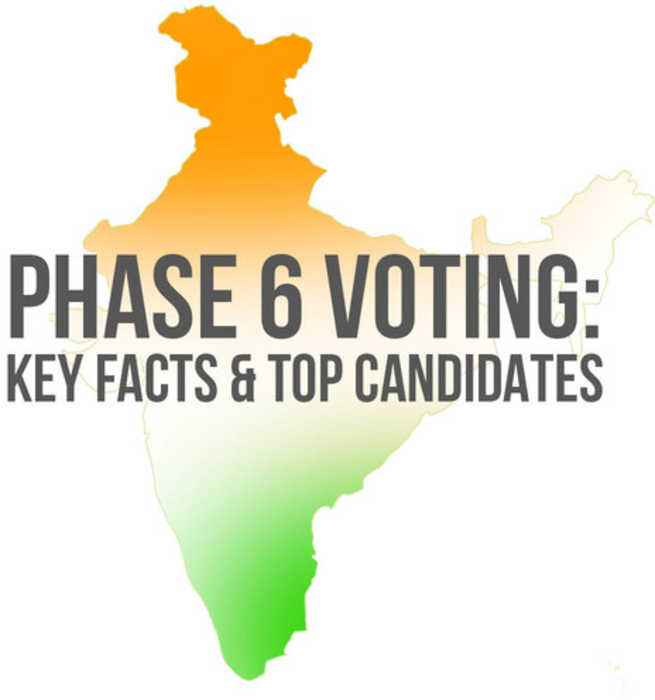 Lok Sabha Elections 2019: Big fights to watch out for in Phase 6 of voting