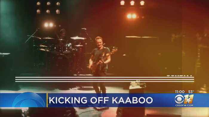 Hours Away From Start Of KAABOO Texas In Arlington