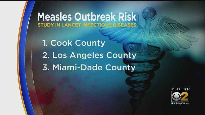New Medical Study Names Cook County Most Vulnerable To Measles Outbreak