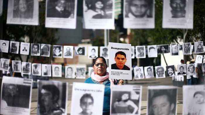 Mexicans seek answers over 40,000 missing loved ones