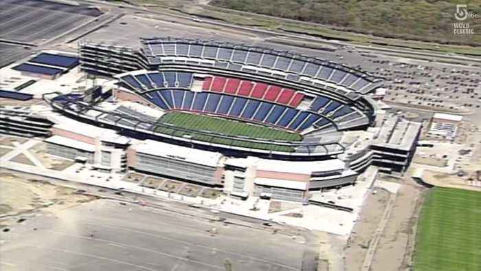May 11, 2002: CMGI Field (now Gillette Stadium) opens to fans for first time