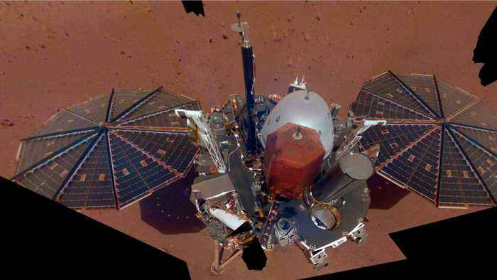 Martian Winds Clean Off Some Of The Dust Gathered On InSight's Solar Panels