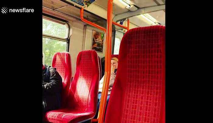 Train driver shares pornographic moans and groans to all passengers through tannoy system