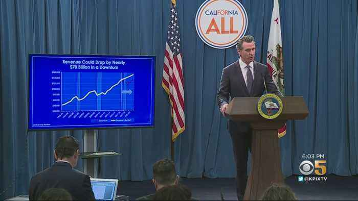 Gov. Newsom Proposes Plan For Large Budget Surplus In May Revise