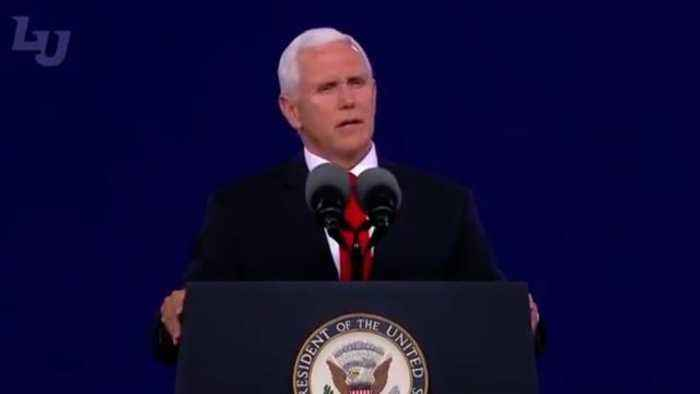 Mike Pence Warns Liberty University Graduates They Might Be 'Ridiculed' For Being Christian