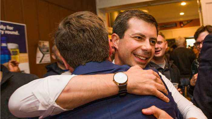 Indiana Mayor Pete Buttigieg Unexpectedly Finds Success In Presidential