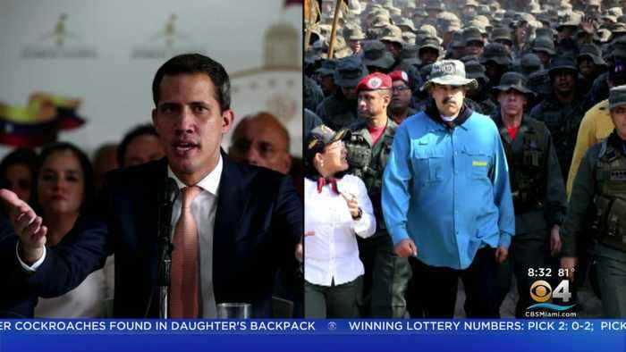 Venezuela Opposition Leader Juan Guaidó Looking To Build Relations With US Military