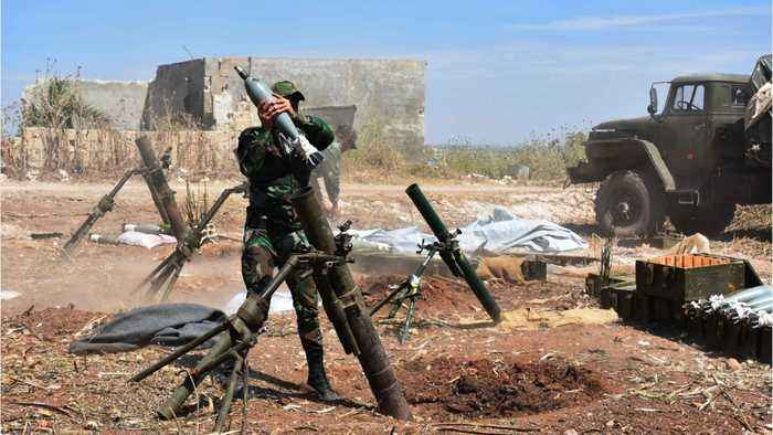 Syrian Army Launches 'Intensive Strikes' On 'Terrorists' In Idlib Countryside