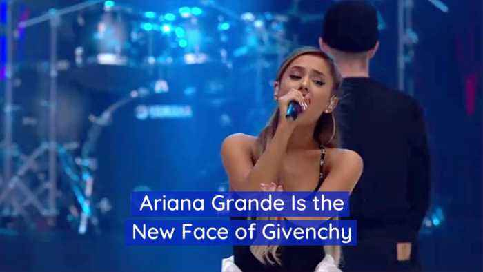 Givenchy Partners Up With Ariana Grande