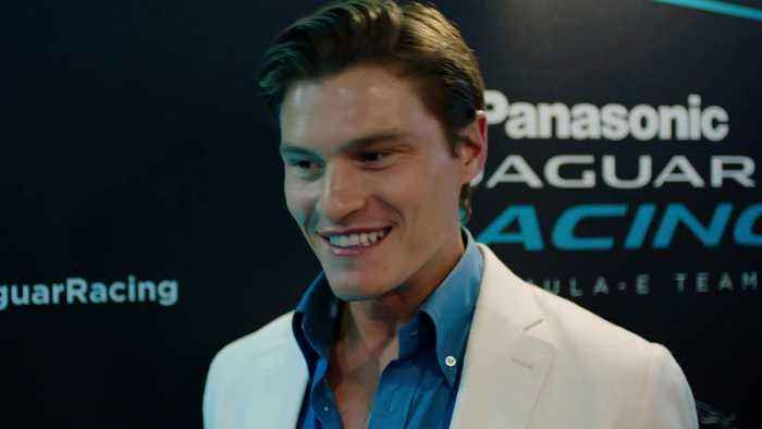 Oliver Cheshire, a guest at the Formula E Race in Monaco