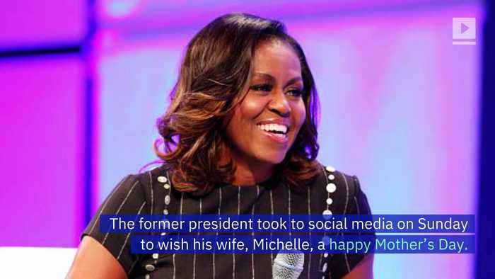 Barack Obama Shares Touching Tribute to Michelle on Mother's Day