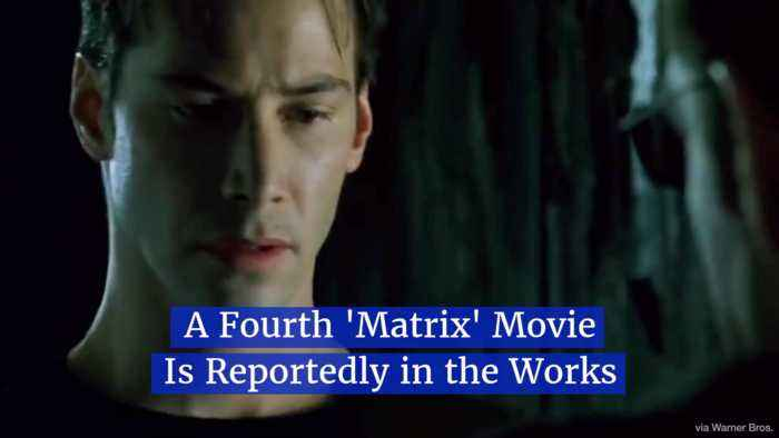 A Director Spills The Beans On 4th 'Matrix' Movie