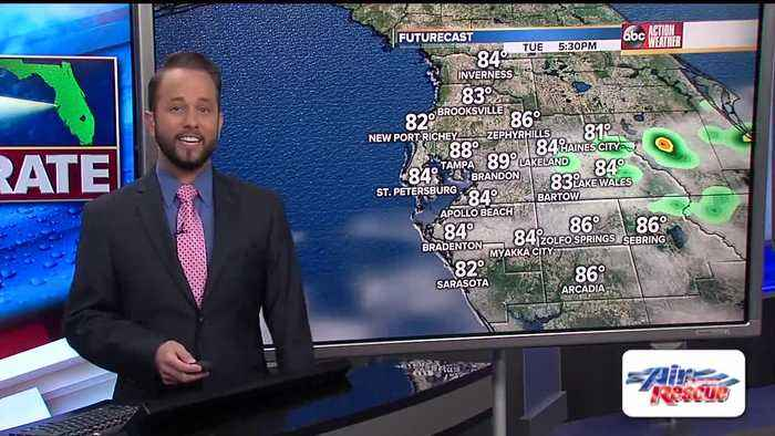 Florida's Most Accurate Forecast with Jason on Sunday, May 12, 2019