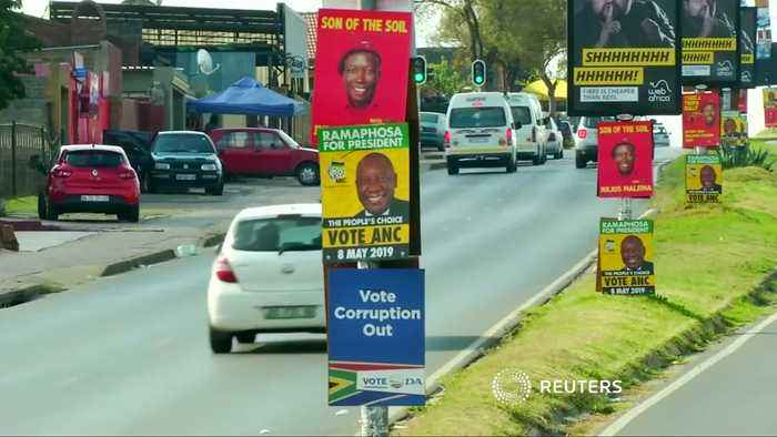 South Africa's ANC wins majority in parliamentary election