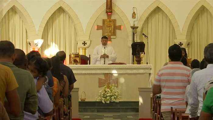 Catholic churches in Sri Lanka resume Sunday services