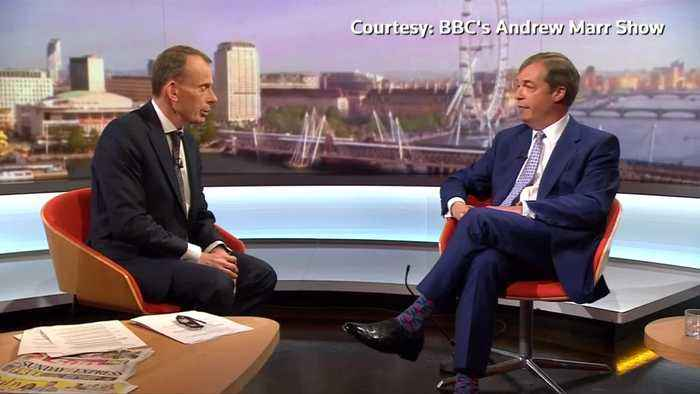 Angry Farage slams BBC during interview