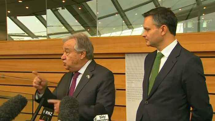 Tax pollution, not people, says UN chief on Pacific visit