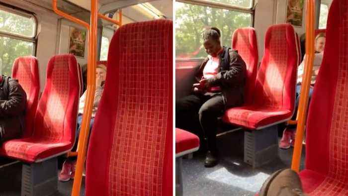 Hilarious Moment Train Driver Plays Porn On Loud Speakers