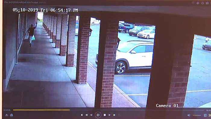 ONLY ON 2: Surveillance video shows gunman shooting man outside CiCi's restaurant