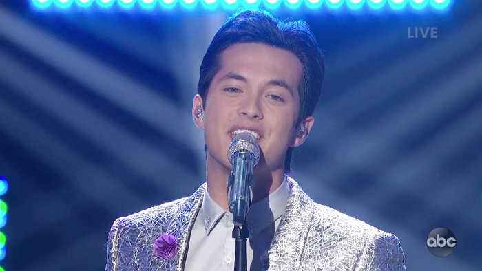Laine Hardy Performs 'Something About The Way You Look Tonight' Live on American Idol