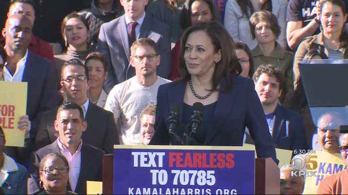 Kamala Harris Looks To Reboot 2020 Campaign By Shifting Aim To Trump