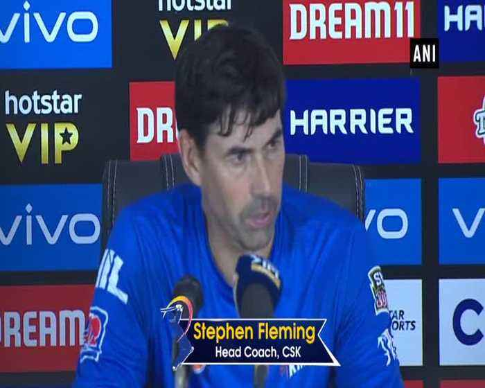 Was hoping a last over six from Shane Watson says CSK head coach Stephen Fleming