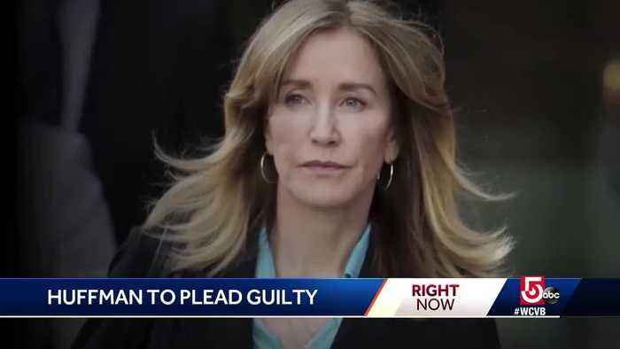 Huffman to plead guilty