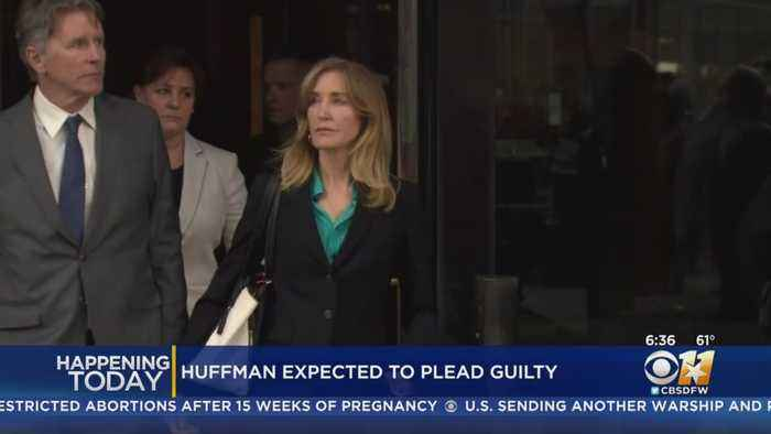 Actress Felicity Huffman To Admit Bribe In College Admissions Scandal