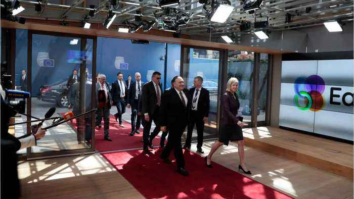 Pompeo Heads To Brussels Before Putin Meeting