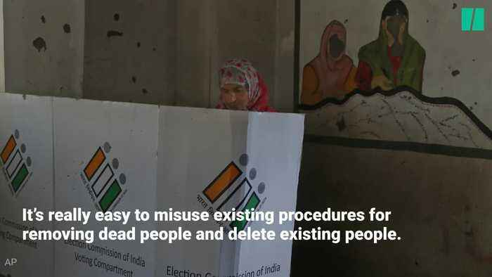 India's missing voters