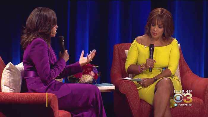 Michelle Obama Speaks With Gayle King During Book Tour