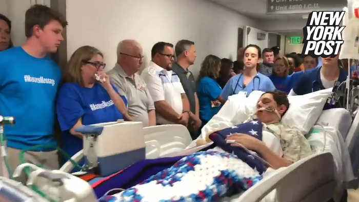 Hospital staff honors family of teen who died from 'choking' challenge
