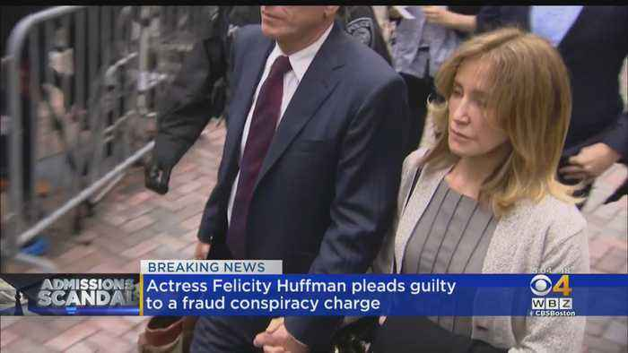Actress Felicity Huffman Pleads Guilty To Fraud Conspiracy Charge