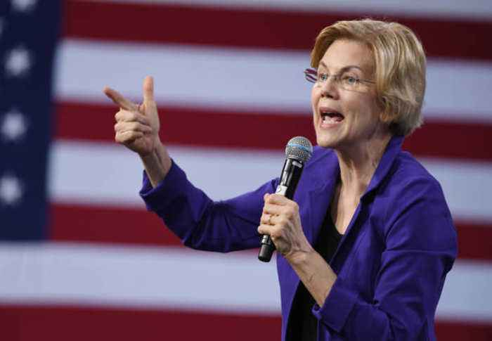 Elizabeth Warren Calls Betsy DeVos the 'Worst Secretary of Education'