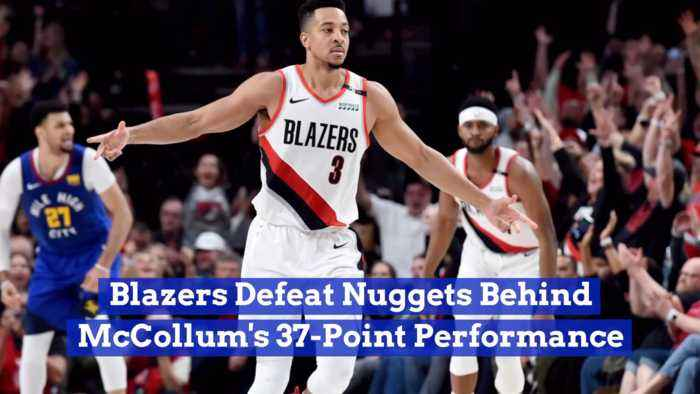 The Portland Trailblazers Head To The Western Conference Finals