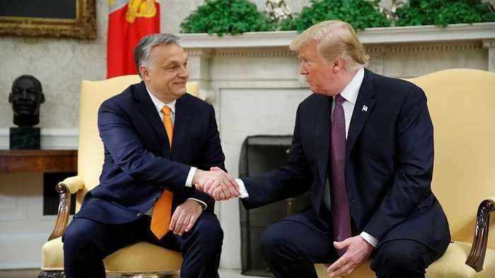 WATCH: Trump praises Orban for protecting Christians from migrants