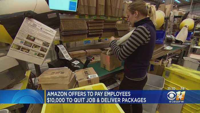 Amazon Wants Employees To Quit And Haul Packages