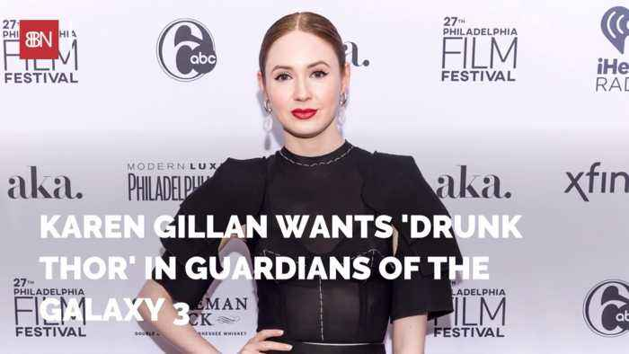 Karen Gillan Wants Overweight and Drunk Thor In Future Movies
