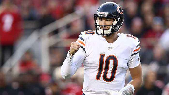 Mitch Trubisky's Best Advice for Kyler Murray