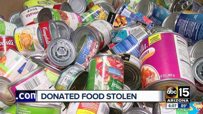 St. Mary's Food Bank donations stolen during Stamp Out Hunger food drive