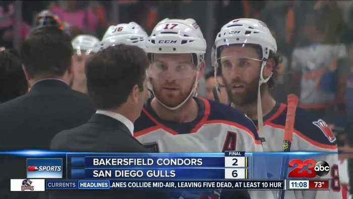 Condors fall 6-2 and close season in Game 6 of Pacific Division Finals