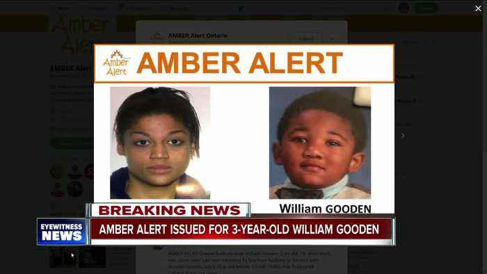 Amber Alert issued for missing 3-year-old Ontario boy
