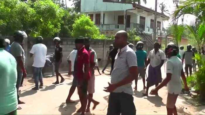 One killed as unrest turns deadly in Sri Lanka