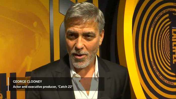 After 20 years, Clooney back on TV with 'Catch 22'