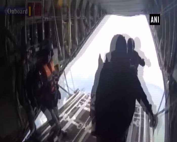 Indian Armed Forces showcase joint capability by undertaking airborne operation