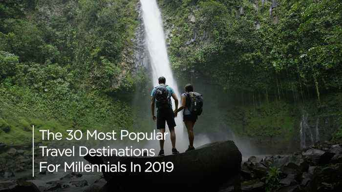 The 30 Most Popular Travel Destinations For Millennials In 2019