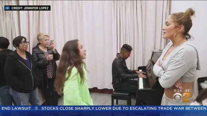 JLo's Daughter Shows Off Singing